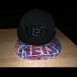 Nets fitted baseball cap
